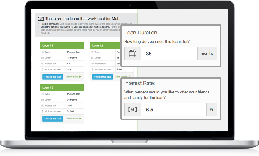 Customize your loans